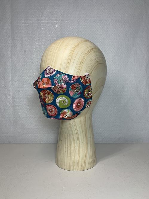 Teal Wagasa 3D Mask