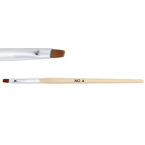Wooden gel brush No. 4