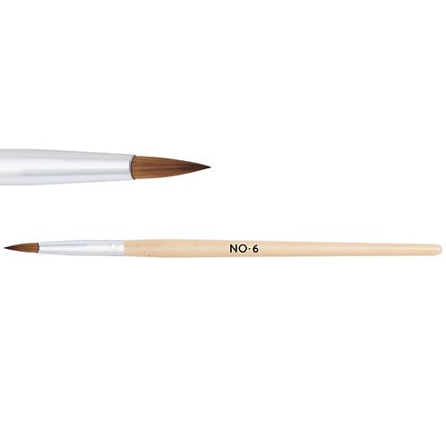 Acrylic brush No. 6