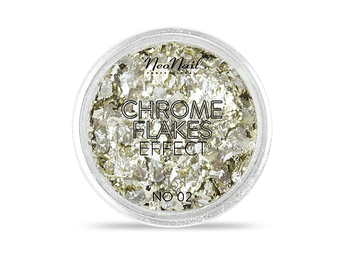 Chrome Flakes Effect NO. 02