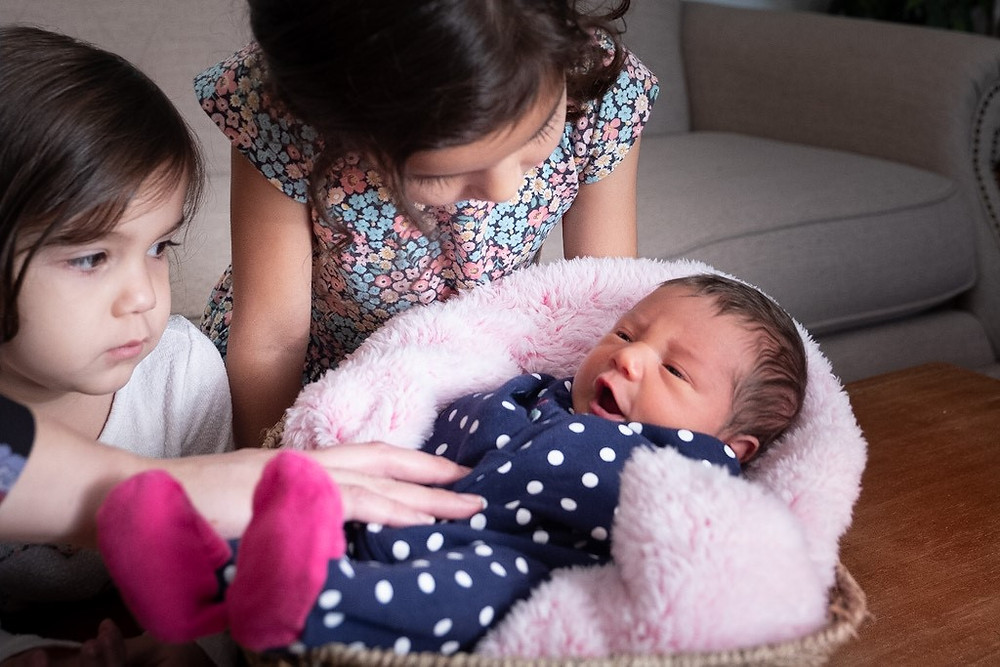 Fairfield CA Family Portrait Newborn Session