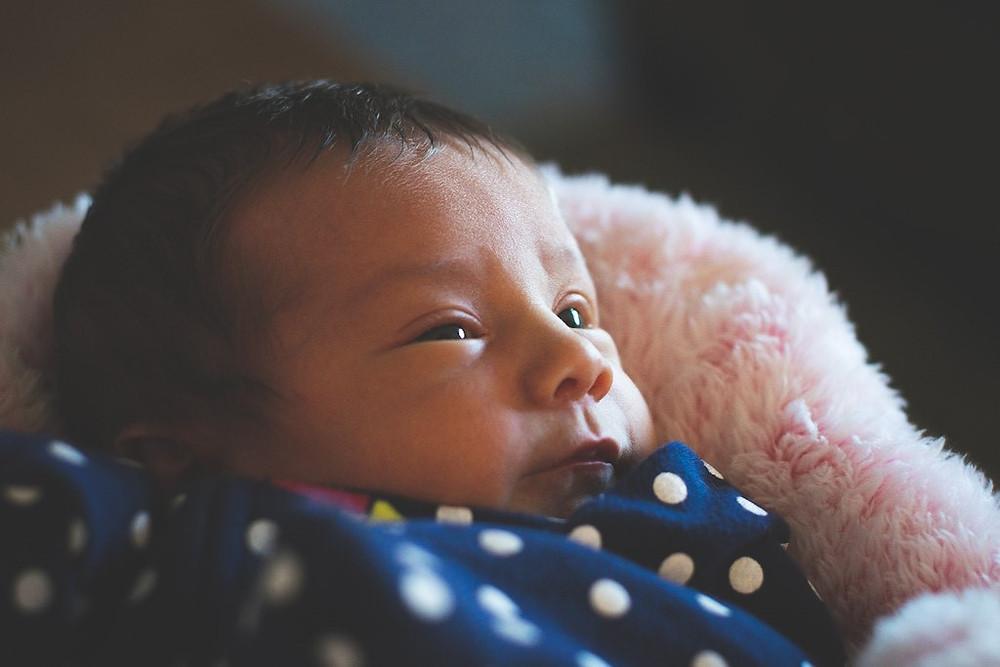 Fairfield CA Family Newborn portrait