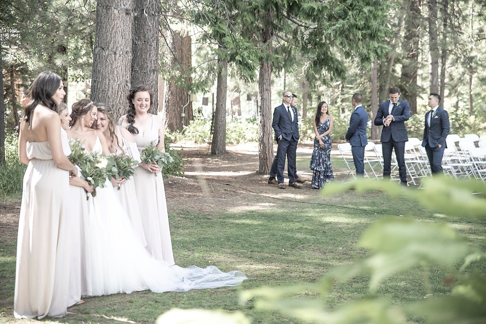 Airy Wedding Photo