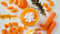 Superpower Orange Smoothie - Rainbow Food Series (V, DF, GF, Egg-free, Soy-free)