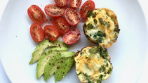 Crustless Broccoli Cheese Quiche Cups - Easy Meal Prep Recipe