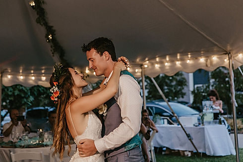 Virginia Beach Wedding Company Reception