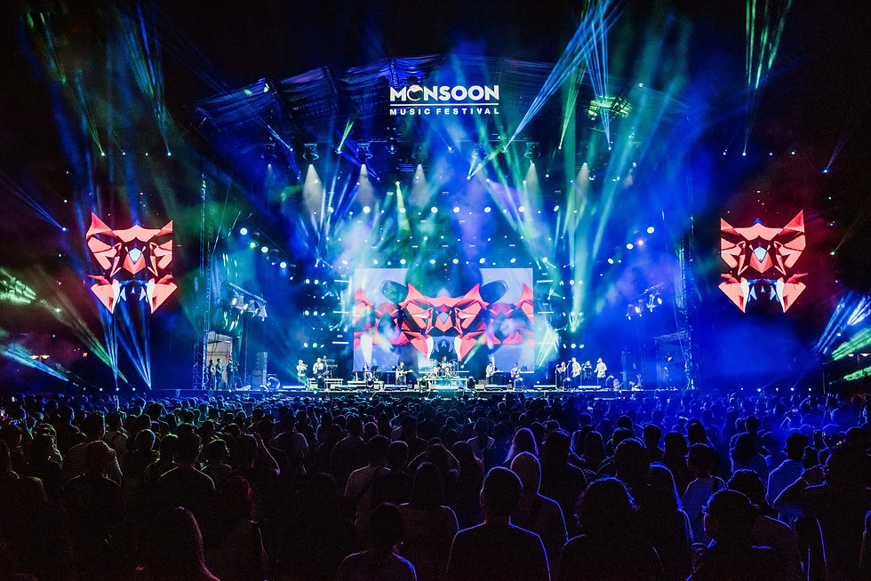 Monsoon Music Festival 2019 Stage