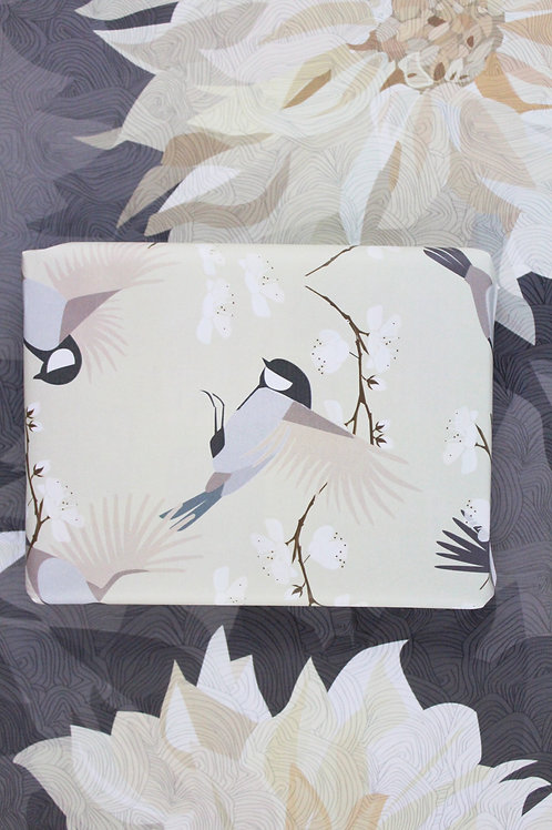Cream Blosson & Bird