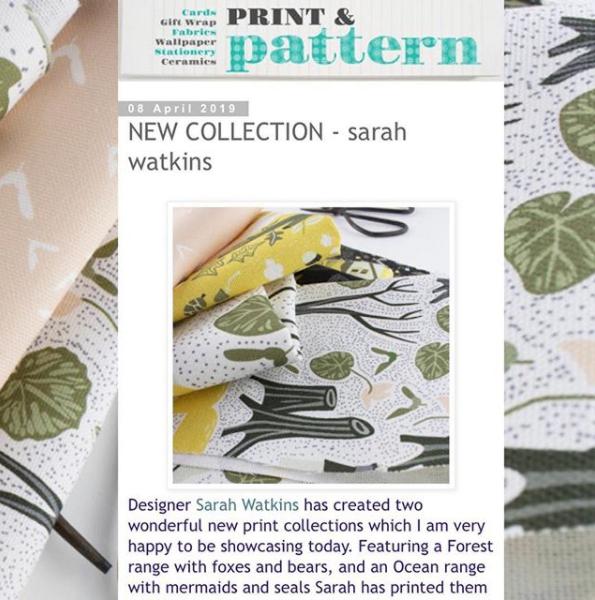 Sarah watkins pattern designer on prit pattern blog