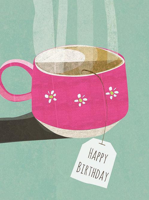 Birthday Card Cuppa