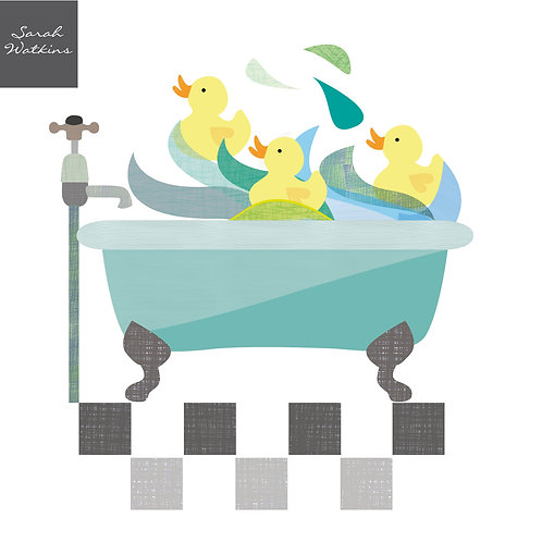 Bathtime Ducks in the Bath