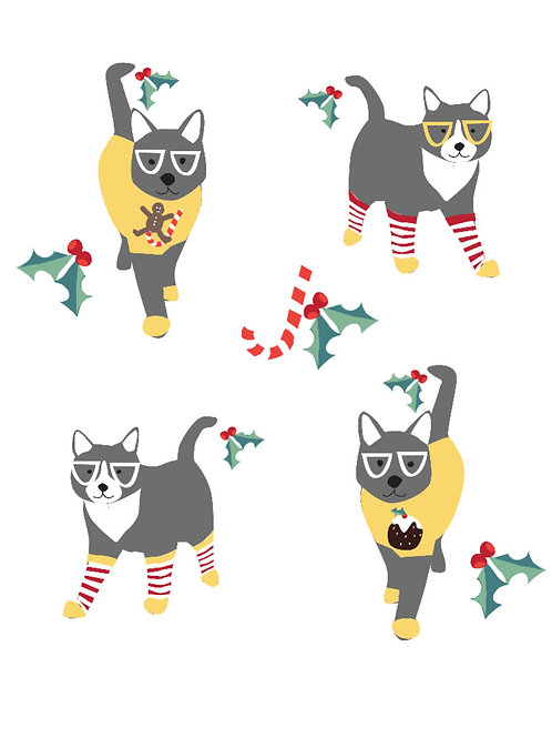 Christmas Jumper Cats