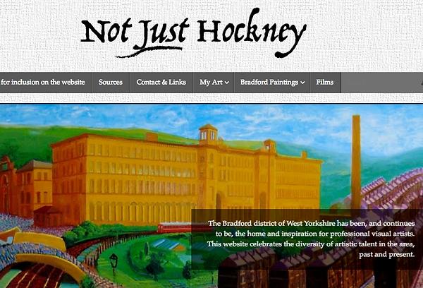 Sarah Watkins patterns featured on Not Just Hockney website