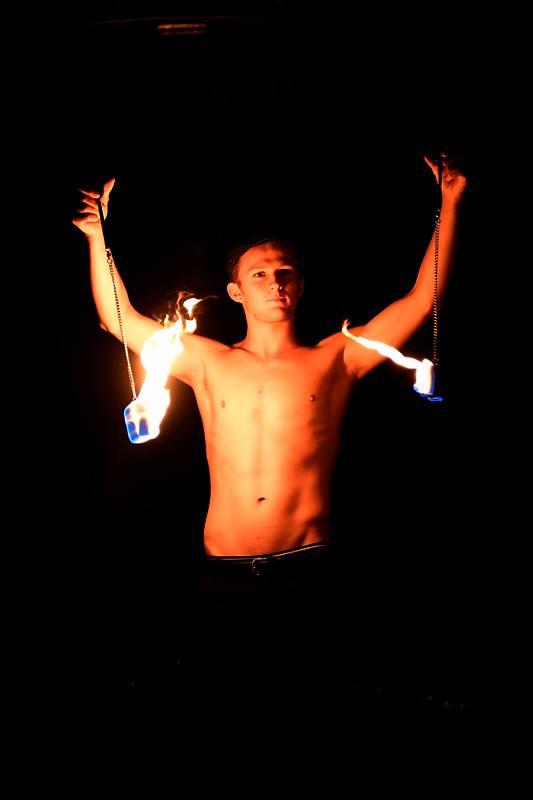 Cirque Nocturne - Fire Poi