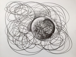 """One Liners, #20 Graphite on Paper, 14"""" x 17"""" copy 2.jpg"""