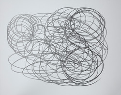 """One Liners, #3 Graphite on Paper 11"""" x 14"""".jpg"""