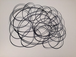 """One Liners, #13 Ink on Paper 19"""" x 24"""".jpg"""