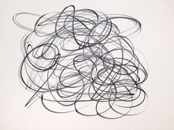 """One Liners, #12 Ink on Paper 19"""" x 24"""".jpg"""