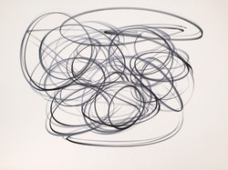 """One Liners, #14 Ink on Paper 19"""" x 24"""".jpg"""