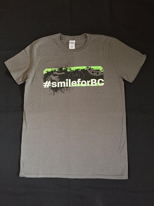 #smileforbc graphic Tee