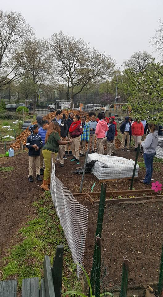 Celebrating Earth Day with our young people
