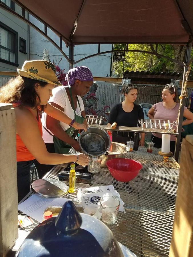 Bread Baking in the Market, 2017
