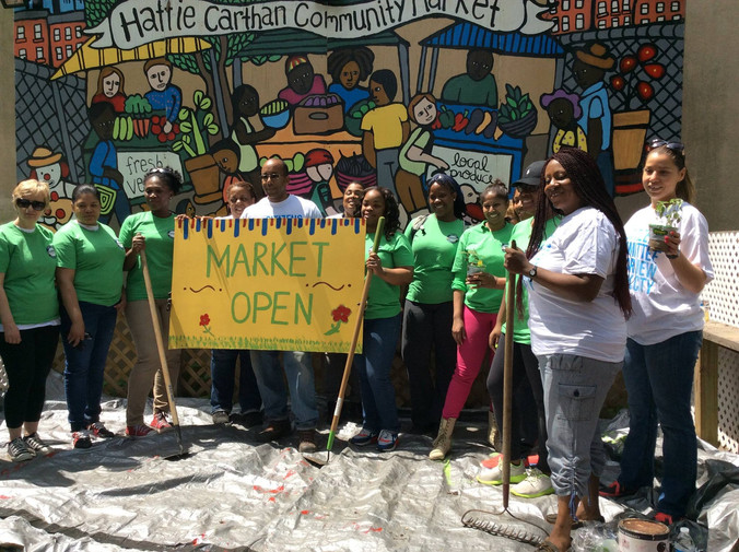 COMMUNITY MARKET WORKDAY July 14th 2016 11am to 6pm and Volunteer Announcements