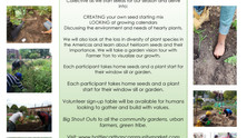 EARTH DAY CELEBRATION AT HC COMMUNITY MARKET April 24th 11am - 2pm