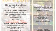 Our Annual Communal Dinner / Fundraiser is just around the corner.  Buy your tickets today!