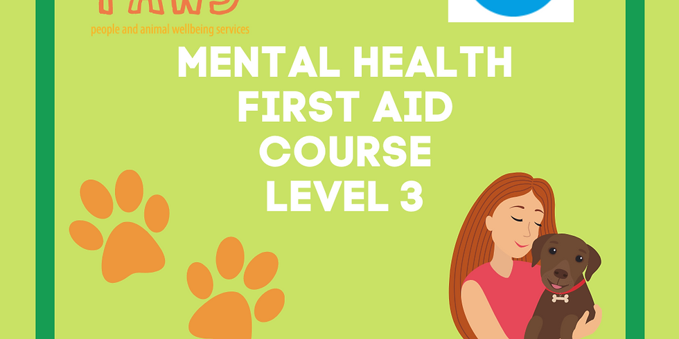 Level 3 Supervising Mental Health First Aid Course