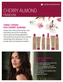 Vescada Salon Aveda Cherry Almond Page 1