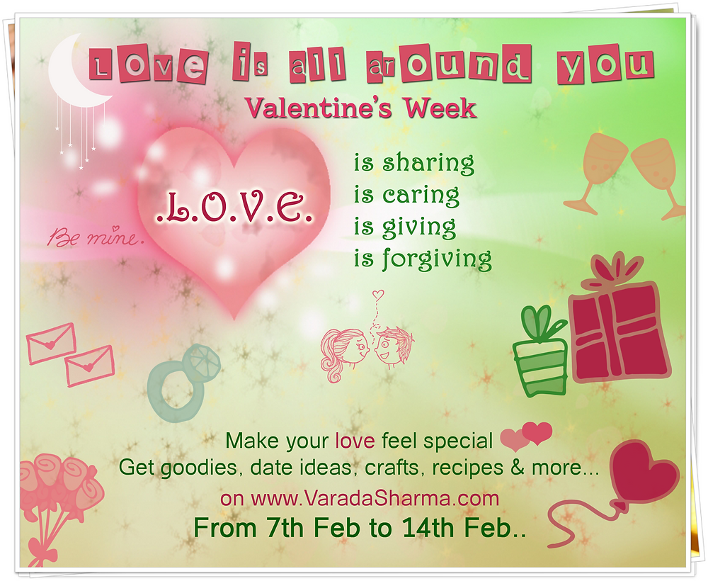 Valentine's week 07Feb to 14Feb