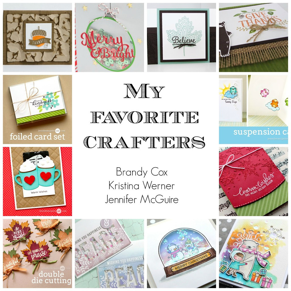 My favorite crafters - part 1
