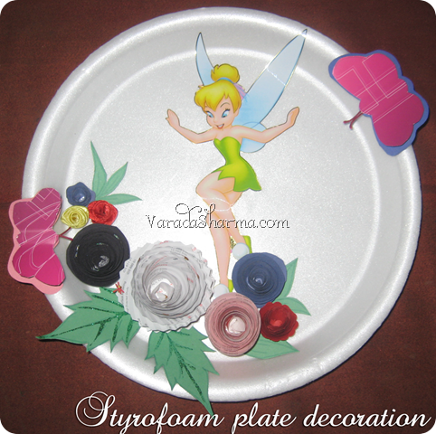 tinker bell plate - whole-r