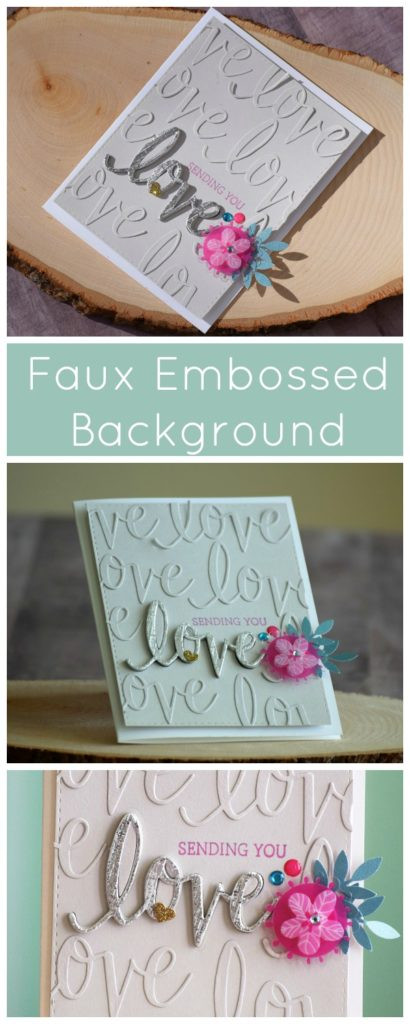 faux embossed 1