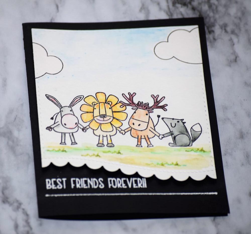 SSS Friends Release Card 1