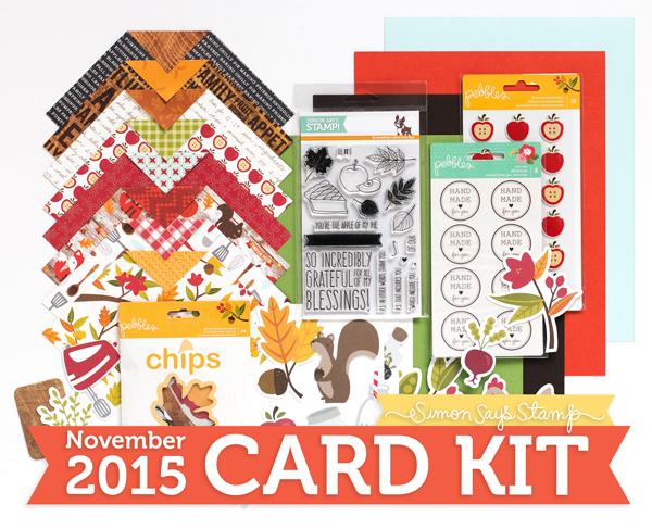 SSS Nov 2015 card kit