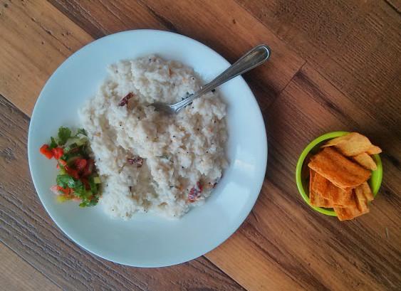 Curd rice - rice with yogurt