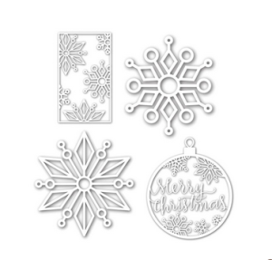 Enchanted Snowflakes Wafer Die Set from SSS