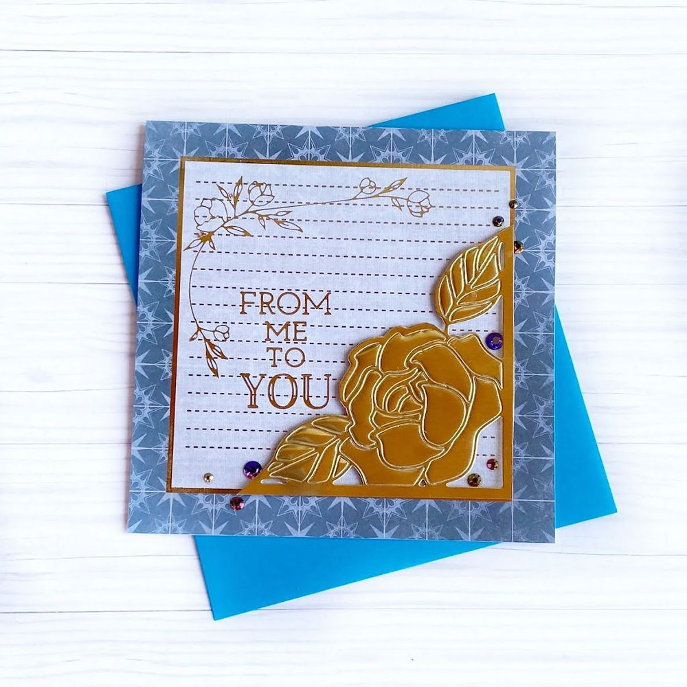Two-for-one cards using Spellbinders Amazing Paper Grace die of the Month for Dec 2020