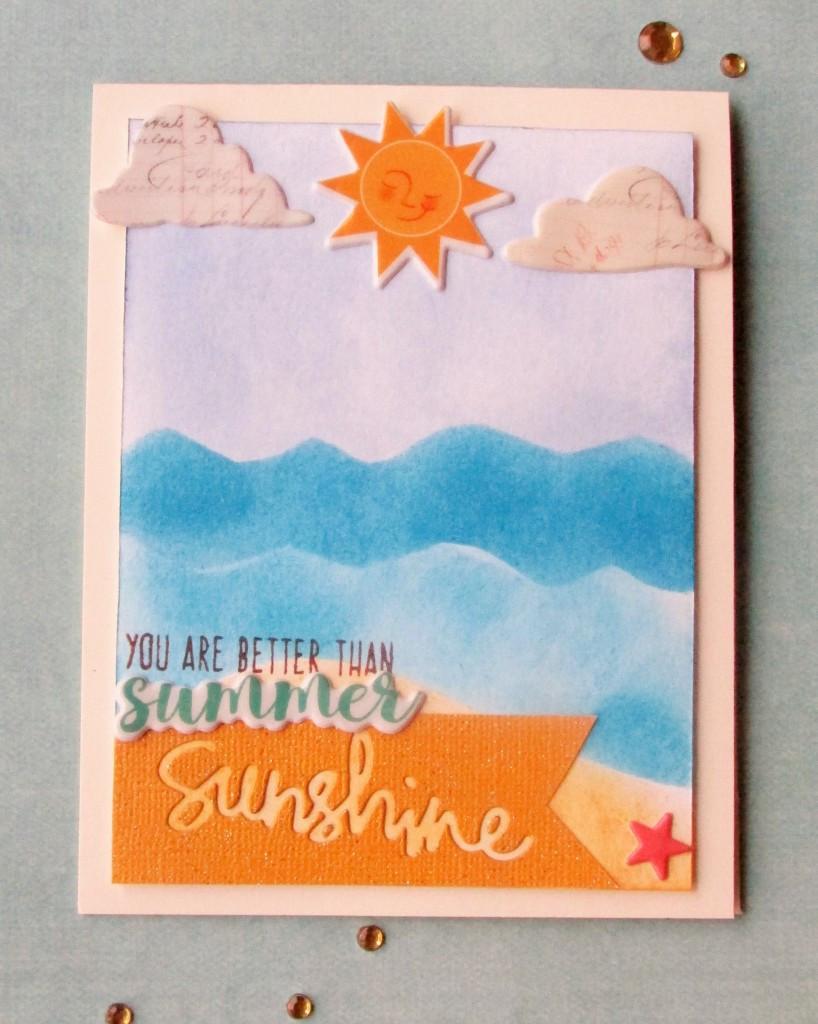 Better than summer sunshine card