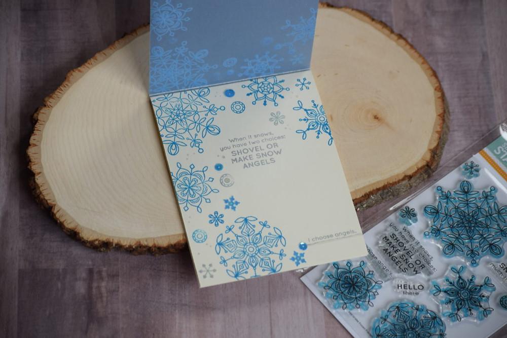 Frozen Fractals card inside