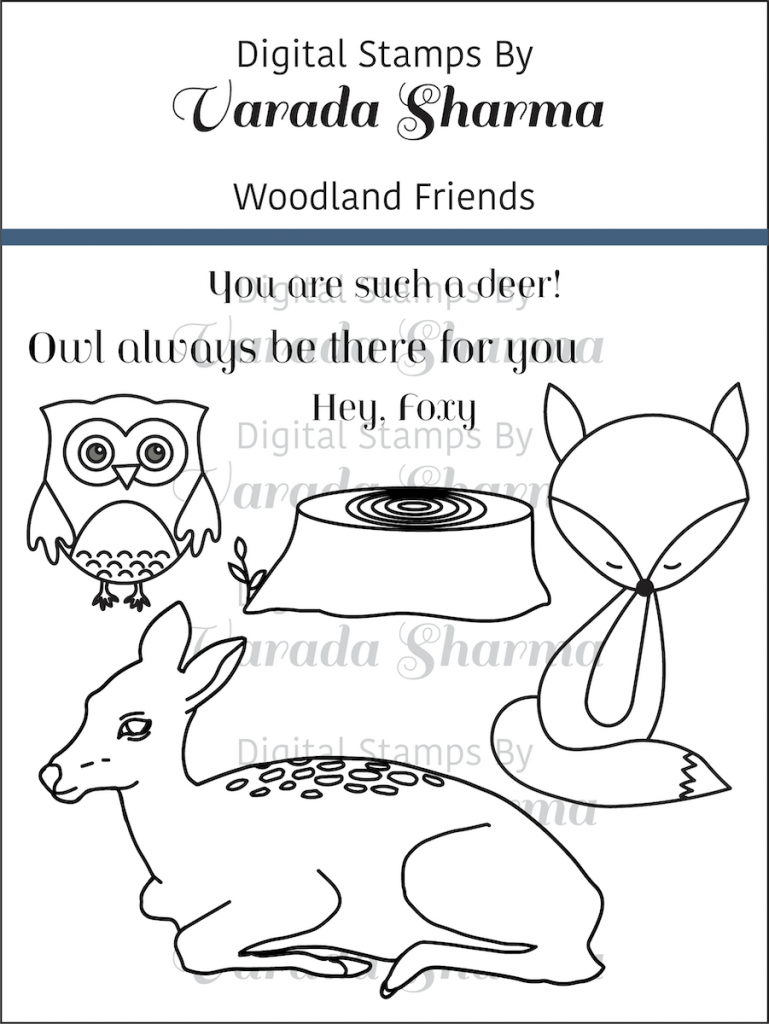 This image has an empty alt attribute; its file name is Woodland-Friends-Stamp-Set-769x1024.png