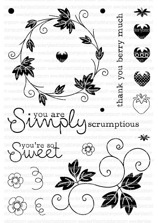 simple scrumptious stamp set