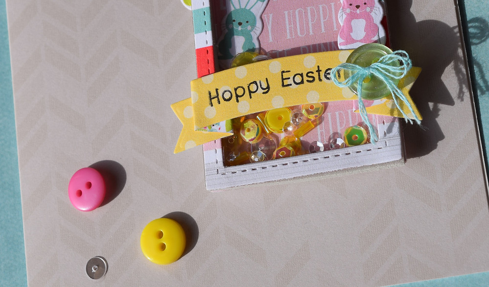 Easter card using SSS March 2016 card kit