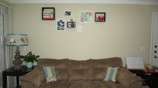 Living room wall 1