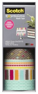 Washi tape from Scotch