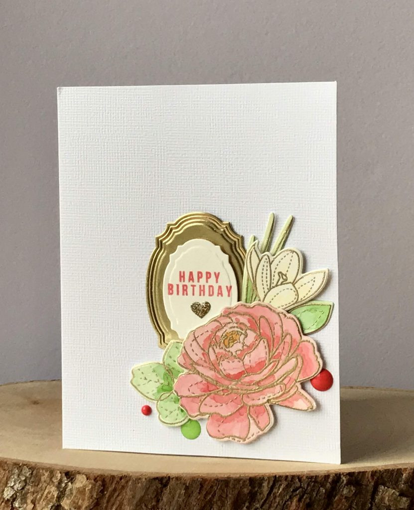 SSS More Spring Flowers with Spellbinders labels 1a
