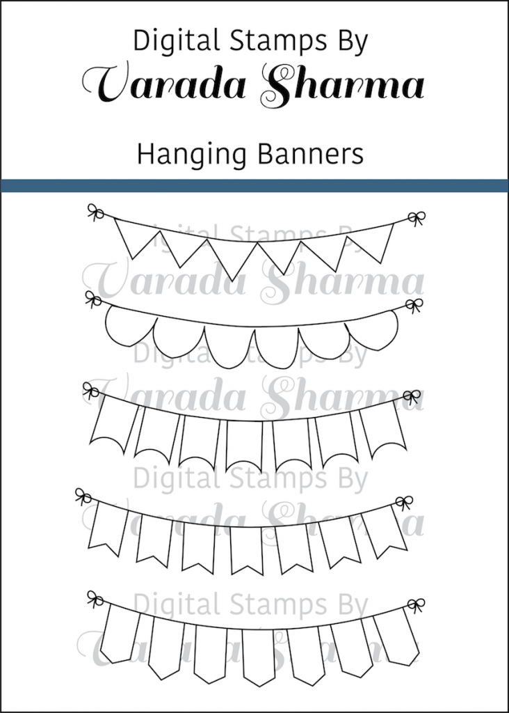 Hanging Banners Stamp Set