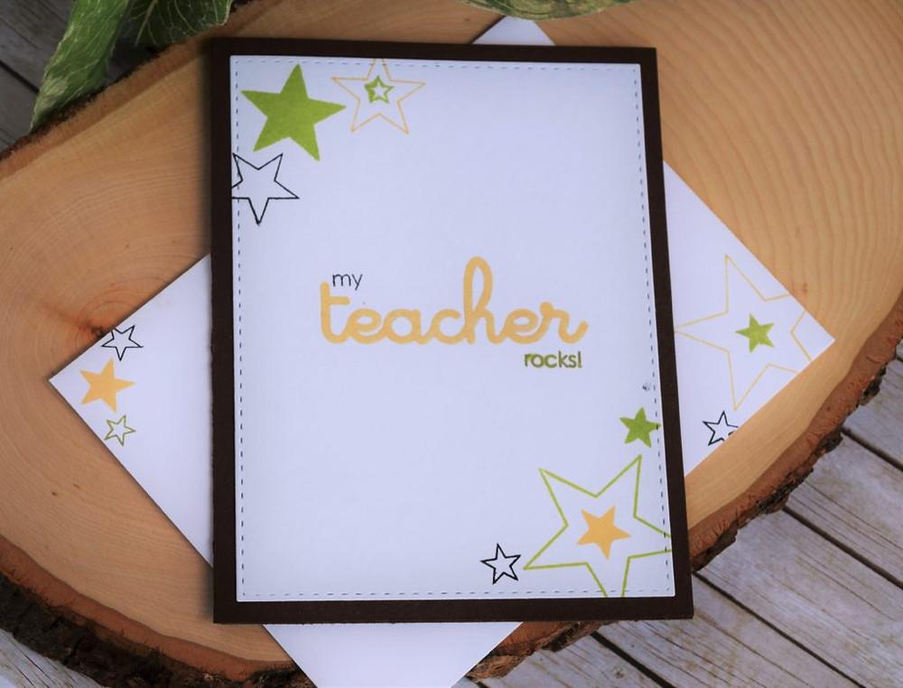 teachers appreciation cards - PE teacher